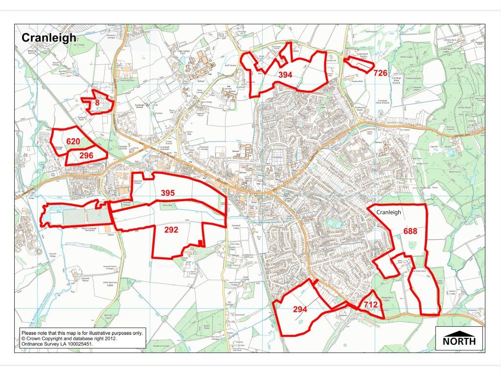Waverley Borough Council SHLAA Cranleigh
