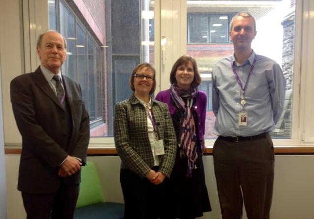 Royal Sun Alliance meets with Cranleigh Society