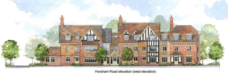 Horsham Road front elevation