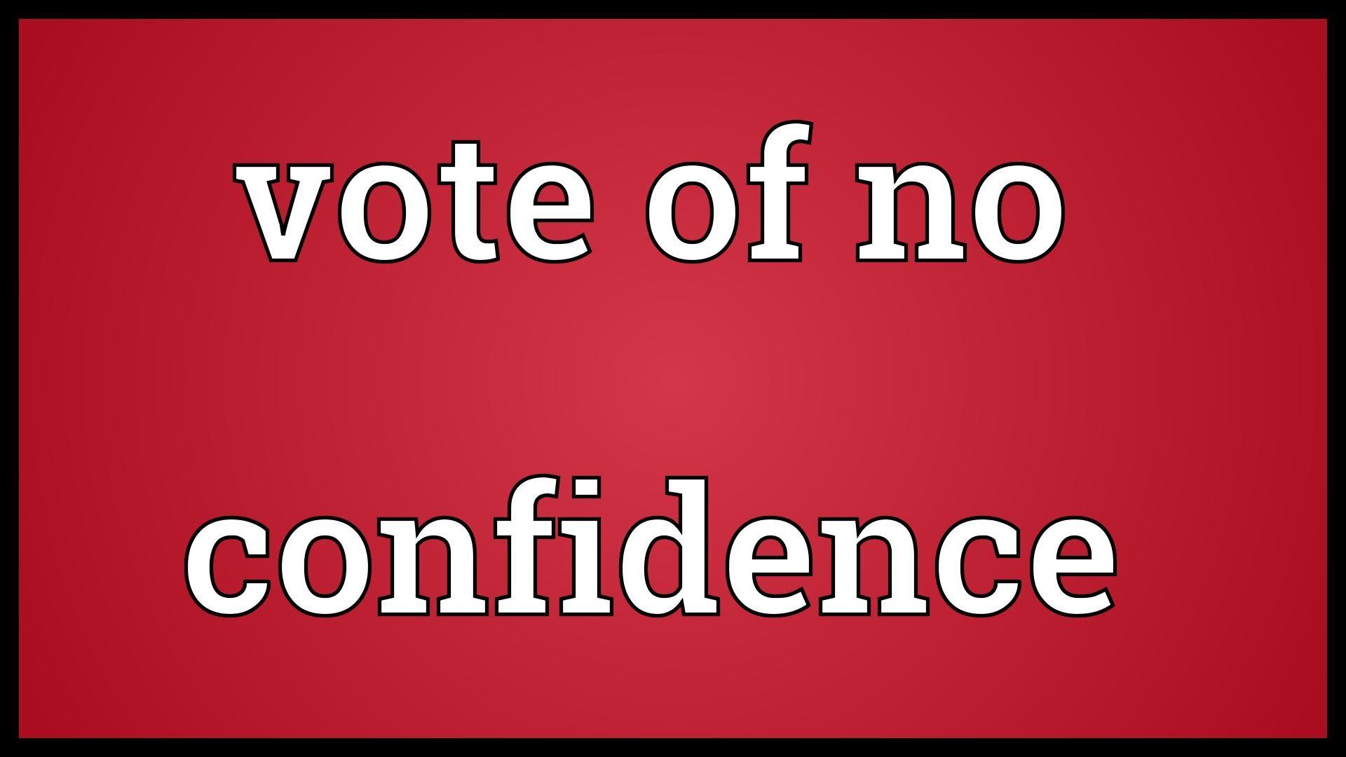 Waverley Leader advised of No Confidence Vote
